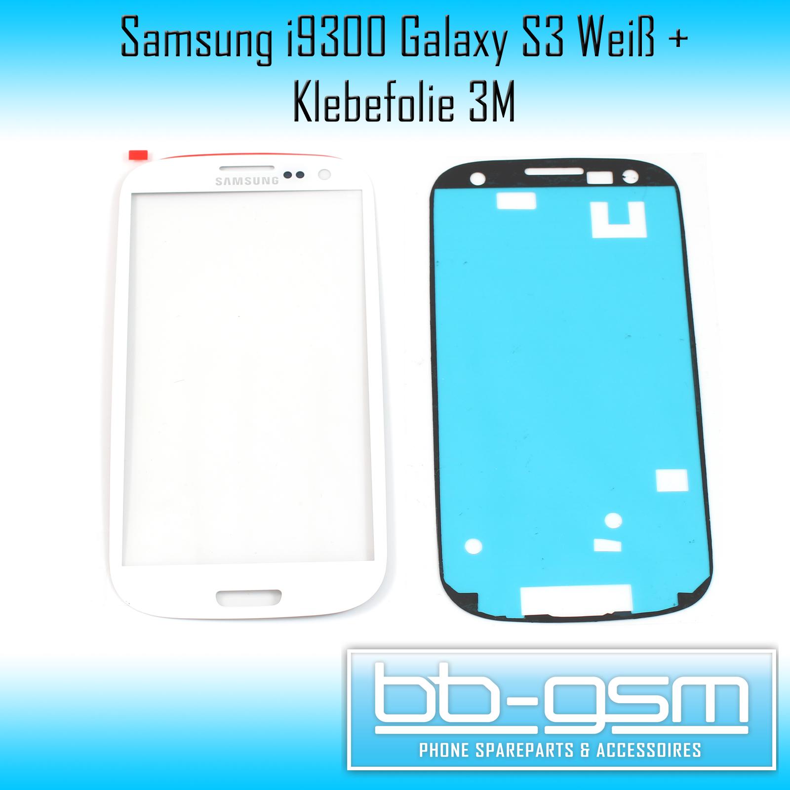 samsung galaxy s3 i9300 wei white glas glass scheibe. Black Bedroom Furniture Sets. Home Design Ideas